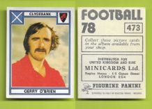 Clydebank Gerry O`Brien 473